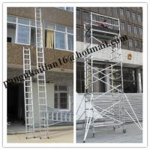 Quality Straight Aluminium ladder&Step ladder,Aluminium Alloy ladder for sale