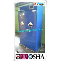 Safety Acid Corrosive Storage Cabinets With Touch Screen For Chemical Liquid