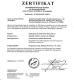 Yuhong Group Co.,Ltd Certifications