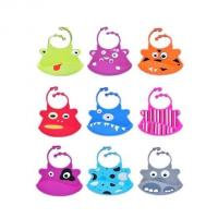 China cute style silicone baby bib ,colorful silicone baby bibs wholesale