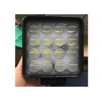 China 4D 48W CREE LED Work Lights 4.5 Inch Square led work lamp for ATV Jeeps 4x4 Fishing Boat Tractor Trucks SUVs wholesale