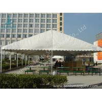 China UV Resistant and Waterproof Aluminum Alloy Outdoor Event Tent White PVC Fabric Cover wholesale