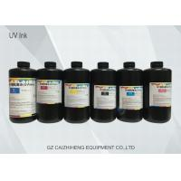 China Fast Drying Infiniti Led Inkjet UV Ink Wide Color Gamut High Fluidity wholesale