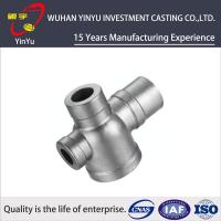 China CF8M / SUS 304 / AISI 304 Stainless Steel Tube Fittings , Stainless Steel Pipe Elbows wholesale
