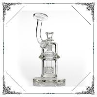 8 Inches Matrix Perc borosilicate Glass Water Bubbler Hookah 7MM Thick