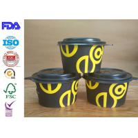 China Professional Paper Salad Bowls Disposable Soup Bowls With FDA Certificate wholesale