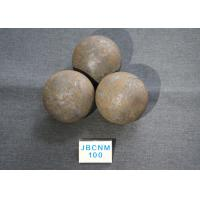 Quality 61-62HRC B3 D100MM Grinding Balls For Ball Mill , steel grinding ball High for sale