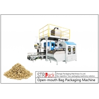 China 5-50kg Animal Feed Bird Seed Pet Food Fish Feed Packaging Machine Open-Mouth Bagging Machine wholesale