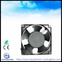 China ac fan 110V 120V 220V 240V 380V, 4.7 Inch metal industry exhaust fan 120 x 120 x 38mm wholesale
