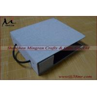 China Fabric Linen Velvet DIY Self Mount Swatch Sample Book Cover on sale