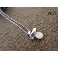 China Fashion Jewelry 925 Sterling Silver Necklace with Zircon W-VD195 wholesale