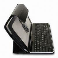 China Bluetooth Keyboard Case for iPad 1/2, with Super Durable Battery and Leather Bag wholesale
