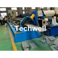 China Galvanized Steel Cable Tray Roll Forming Machine With 18 Stations Forming Roller Stand wholesale