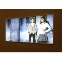 China Silicone Edge Graphics Frameless Light Box Backlit Trade Show Displays wholesale
