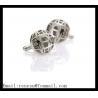 Buy cheap Silver plated Metal Cufflinks ball shape Cufflink Best men's Accessories from wholesalers
