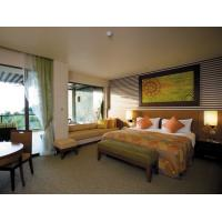 Buy cheap Modern Fabric Bedroom High End Hotel Furniture With Ebnoy Wood Veneer Finish from wholesalers