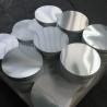 China Smooth Bright Surface Aluminum Disk Blanks / Round Aluminum Blanks ISO9001 wholesale