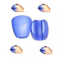 China silicon heat resistant gloves ,heat resistant silicon mitts wholesale
