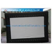China Promotional Advertising Inflatable Movie Screen / Video Screen In Backyard wholesale