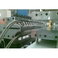 China Half - Crust Foamed PVC Sheet Production Line For Furniture Board Making wholesale