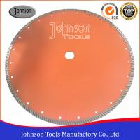 China 14 Sintered Diamond Turbo Saw Blade for Wet Cutting Hard Fire Bricks with Hot Press on sale