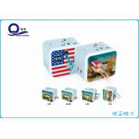 China 2 USB Output Universal Travel Adapter Charger For Mobile Phone Quick Charger wholesale