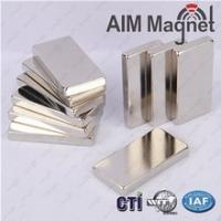 China Super strong NdFeB Permanent Block Magent 30x30x0.8mm thin magnet wholesale