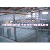 "China FLAT / CRIMPED Gray Inconel Knitted Metal Mesh Plain Weave Wire Diameter 0.008 - 0.011 "" wholesale"