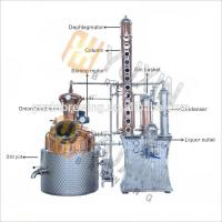 China Red Copper/Stainless Steel Micro Vodka Distillery Equipment for sale wholesale