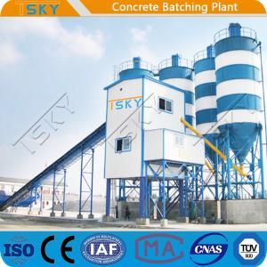 China Modular Stationary HZS120 Concrete Batching Equipment wholesale