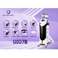 China Body Shaping Ultrasonic Slimming Machine Face Thinner 2 Fat Freeze Handles wholesale