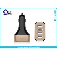 China Quick Charge 2.0 4 Port USB Car Charger 48W 9.6A / iPhone usb car adapter Fast Charging wholesale