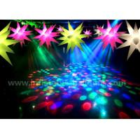 China Ceiling Decoration Inflatable Lighting Balloon / Inflatable LED Christmas Stars wholesale