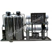 China Automatic / Manual Pure Water Purification Systems Stainless Steel Machine Frame wholesale