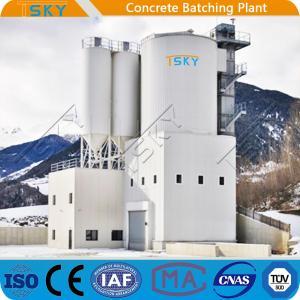 China TSKY MS4000 Mixer 240m3/H Concrete Batching Systems wholesale