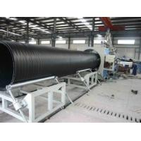 China Large Diameter Pipe Production Line / Hdpe Pipe Making Machine 320 - 800kg/hr wholesale
