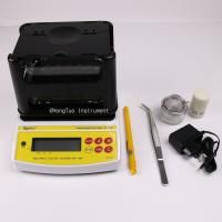 Digital Jewellery Tools Gold Purity Checking Machine For Banking Industry