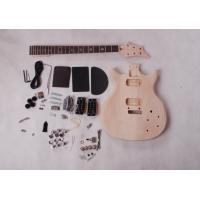 China Double Cutaway Mahogany Body DIY Electric Guitar Kits Rosewood Fingerboard AG-DU4 wholesale