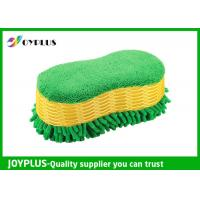 China Microfiber Chenille Sponge For Washing Car Special Shape 24X12.5X8CM wholesale