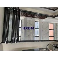 China Hurricane Proof Interior Folding Doors 6063 -T5 Aluminum Profile With Safety Glass wholesale