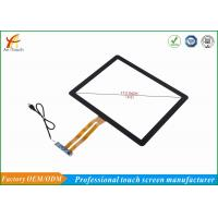 China High Sensitive Touch Screen 17 Inch 1280*800 Resolution , 86% Min Transmittance wholesale