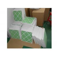 China Disposable Z - Line Pleated Panel Air Filters , Industrial Air Purifier With Washable Filter wholesale