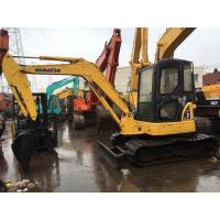 Komatsu mini crawler excavator PC55 for sale, Cheap used original Japan PC55 excavators in Shanghai