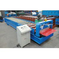 China Automatic Wall Panel Metal Roof Sheet Tile Roll Forming Machine 20m/min 380V 50Hz wholesale