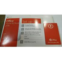 Microsoft Office 2016 Home and Student Package & Key Card & Product Key For