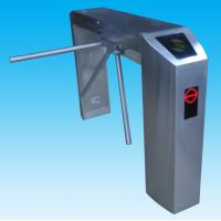 China Full-auto 304 stailess steel tripod security turnstile gate for two-direction card reading wholesale