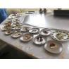 China Gas Heating Bridge Shage Eleven Seats Teppanyaki Grill Table Stainless Steel 304 wholesale
