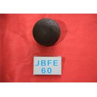 Quality B2 D60MM Grinding Balls For Mining Surface Hardness 57-60HRC Smaller Grain for sale
