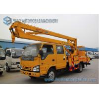 Buy cheap ISUZU 600P 130hp High Altitude Operation Truck  , 16M Aerial Platform Truck product