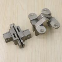 China FIRE RESISTANT DOOR HARDWARE STAINLESS STEEL ADJUSTABLE CONCEALED HINGE wholesale